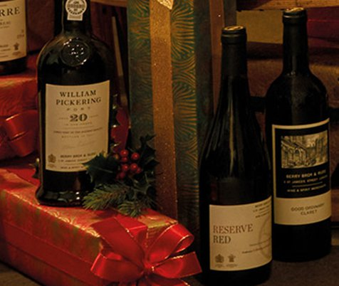 Christmas Wine Cases at Berry Bros. & Rudd