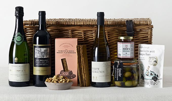 classic Christmas hampers at Berry Bros. & Rudd