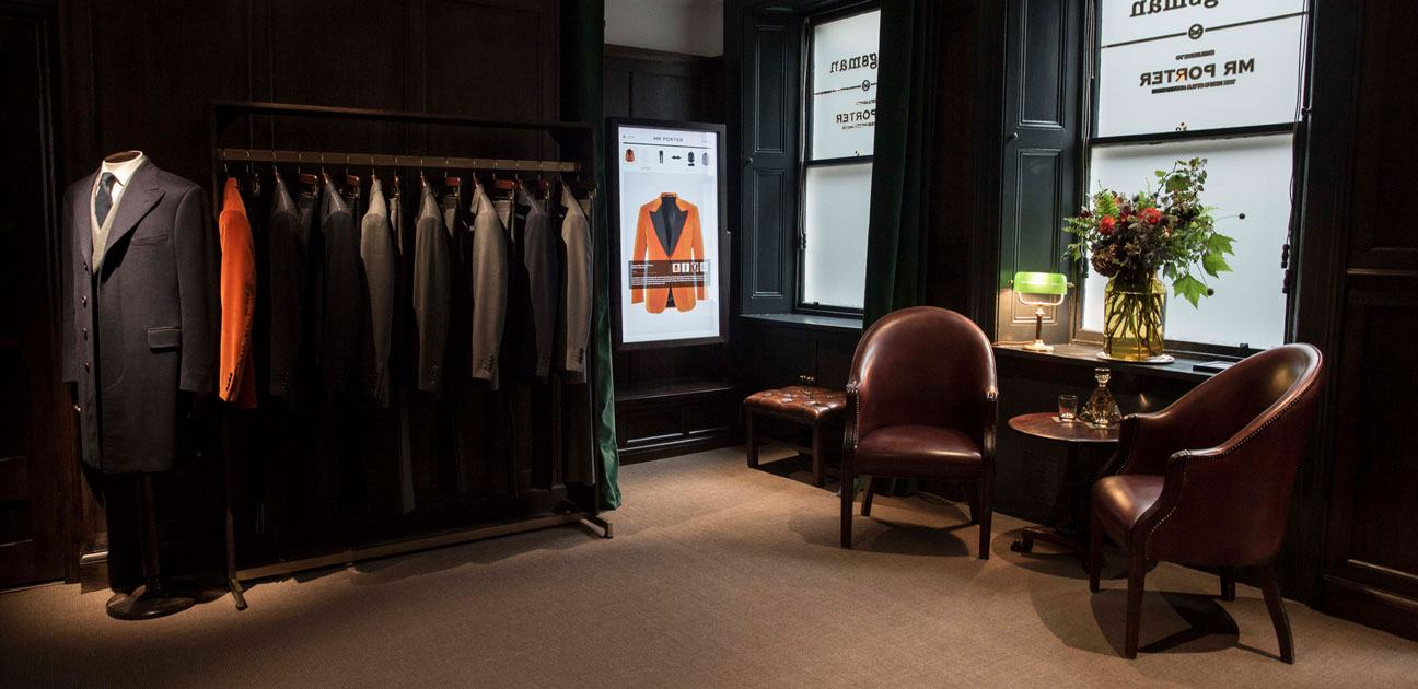 Kingsman X MR PORTER at Berry Bros. & Rudd