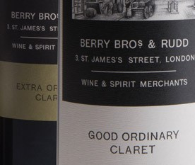 Extra Ordinary Claret available at Berry Bros. & Rudd