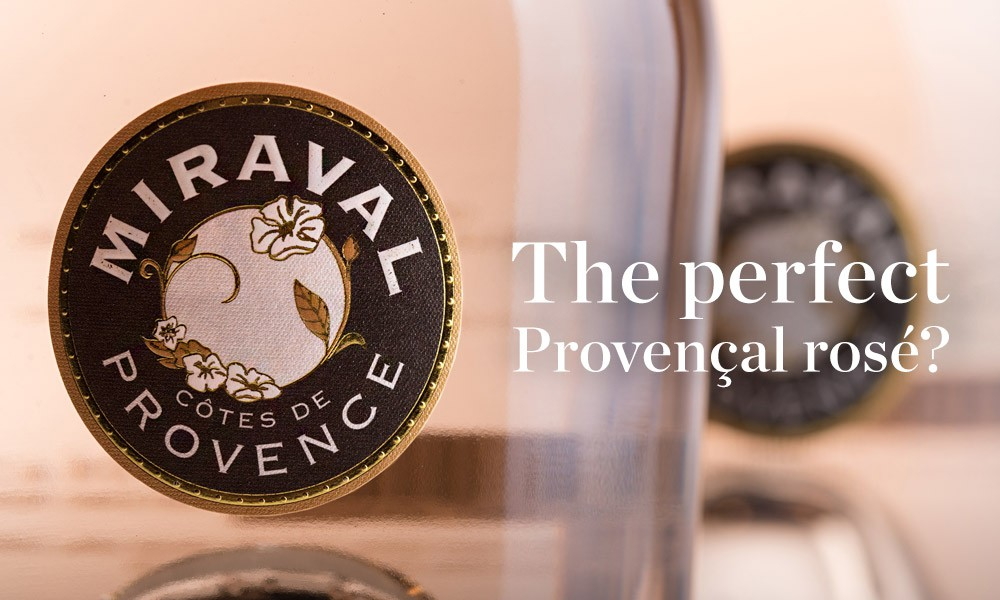 The new vintage of Miraval available at Berry Bros. & Rudd