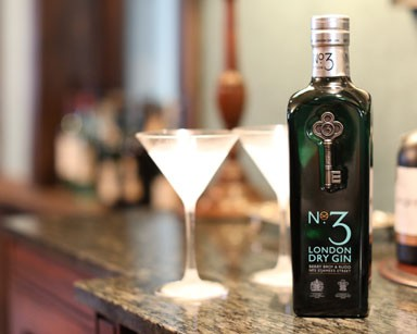 No.3 London Dry Gin Kingsman Edition available at Berry Bros. & Rudd