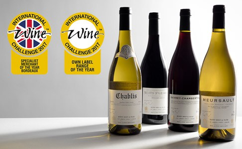 Our award-winning Own Selection  available at Berry Bros & Rudd