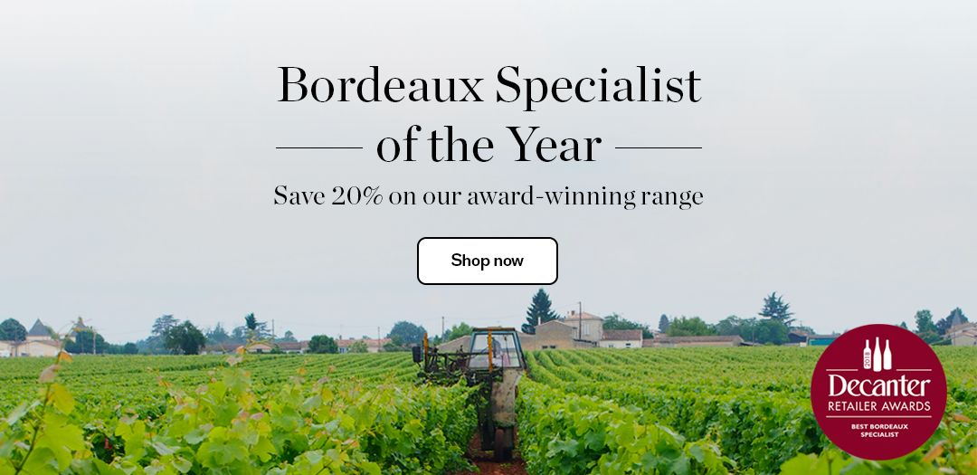 Save 20% on a selection of Red Bordeaux available at Berry Bros. & Rudd