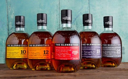 The Glenrothes Soleo collection available at  Berry Bros. & Rudd