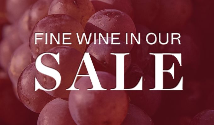 New lines added. Save up to 40% on a selection of wines in our sale at Berry Bros. & Rudd