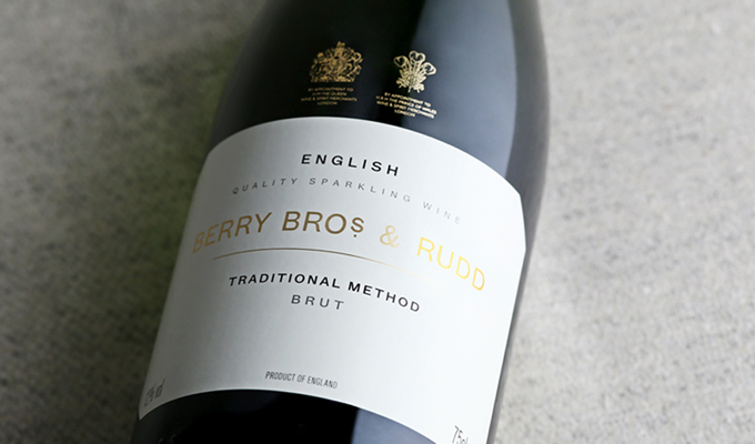 Our new English sparkling wine