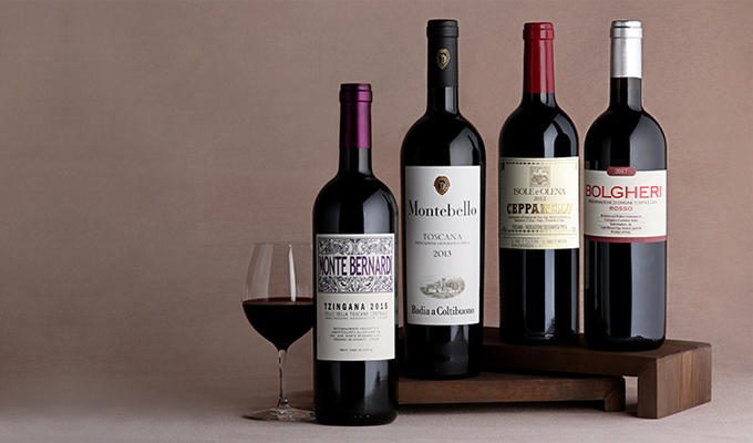 The Super Tuscan set