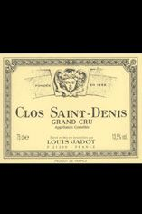 2010 Clos St Denis, Grand Cru Louis Jadot