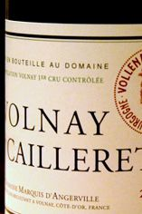 2005 Volnay, Caillerets, Marquis d'Angerville