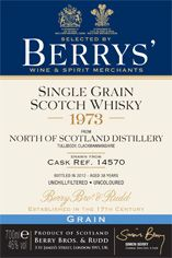 1973 Berrys' Own Selection North of Scotland