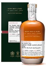 Berrys' Exceptional Casks, North British Grain Whisky, 50-year-old