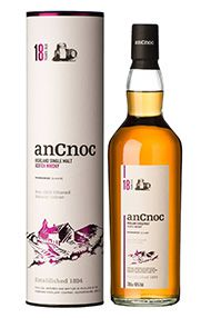 AnCnoc 18-year-old, Knockdhu Distillery, Single Malt Whisky, 46%