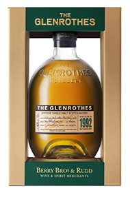 1992 The Glenrothes 2nd Edition, Speyside, Single Malt Whisky, 44.3%