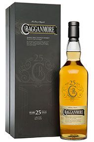 Cragganmore 25-year-old, Single Malt Whisky, Bottled 2014, (51.4%)