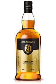 Springbank 21-year-old, Single Malt Scotch Whisky, 2015 Release, 46.0%