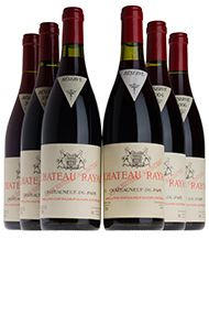 Château Rayas, Assortment Case 4, 2bts of each: 98,99,05,06,07,08