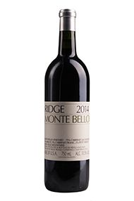 2014 Ridge Monte Bello, Santa Cruz Mountains, California
