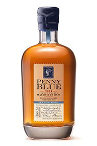 Penny Blue, XO Single Estate, Mauritian Rum, Batch No 004, 43.3%
