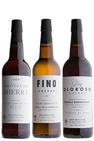 Sherry Trio, 3-Bottle Mixed Case