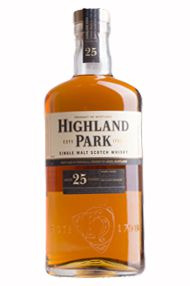 Highland Park 25-year-old, Orkney, Single Malt Whisky (45.7%)