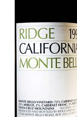 1988 Ridge Monte Bello, Santa Cruz County, California