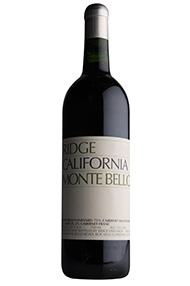 2005 Ridge Monte Bello, Sonoma County, California
