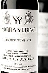 2004 Yarra Yering Dry Red No. 2 Shiraz, Yarra Valley, Victoria