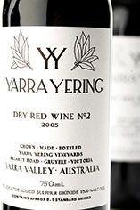 2005 Yarra Yering Dry Red No.2 Shiraz, Yarra Valley, Victoria