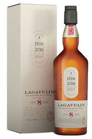 Lagavulin, 8-year-old, Islay, Single Malt Scotch Whisky (48%)