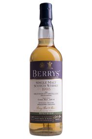 1995 Berrys' Own Selection Miltonduff, Cask 2814, Single Malt Whisky, 46%