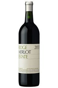 2013 Ridge Estate Merlot, Santa Cruz Mountains, California