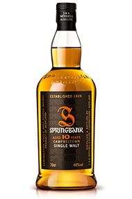 Springbank 10-year-old, Campbelltown, Single Malt (46%)