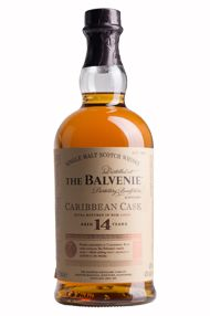 Balvenie Caribbean Cask, Speyside, 14 year-old, Single Malt, 43.0%