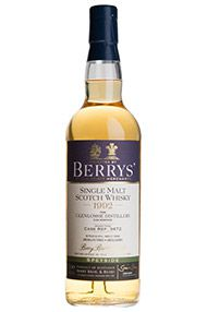 1992 Berrys' Own Selection Glenlossie, Cask No. 3473, Malt Whisky, 46.0%