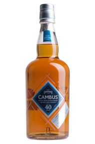 Cambus 40-Year-Old, Lowland, Single Grain, Bottled 2016, 52.7%
