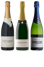 English Sparkling Wine Trio, 3-Bottle Case
