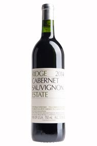 2014 Ridge Estate Cabernet Sauvignon, Santa Cruz Mountains, California