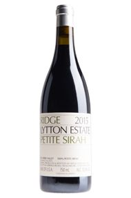 2015 Ridge Lytton Estate Petite Sirah, Dry Creek Valley, Californin