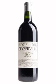 2015 Ridge Geyserville, Sonoma County, California
