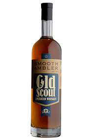 Smooth Ambler, Old Scout American Whiskey, Bourbon Whiskey, 49.5%