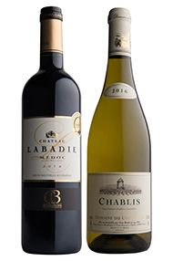 Chablis & Claret, Two-Bottle Gift