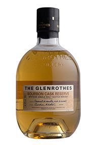 The Glenrothes Bourbon Cask Reserve with Two Savouring Glasses