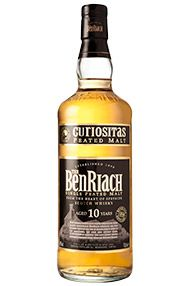 Benriach Curiositas 10 Year-Old, Single Malt Scotch Whisky, 40.0%