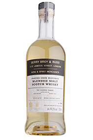 Berry Bros. & Rudd Classic Peated Cask, Blended Malt Scotch, (44.2%)