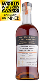 Berry Bros. & Rudd Classic Sherry Cask, Blended Scotch (44.2%)