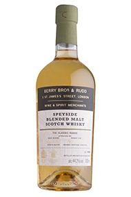 Berry Bros. & Rudd Classic Speyside Blended Malt Scotch Whisky, (44.2%)