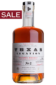 Texas Legation Batch No. 2, Texas Bourbon Whiskey 46.2%