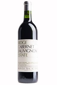 2015 Ridge, Estate Cabernet Sauvignon, Santa Cruz Mountains, California