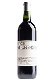 2016 Ridge, Lytton Springs, Sonoma County, California, USA